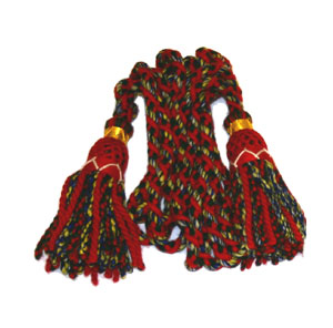 Scottish Thistle Meval Sporran Pouch, Black